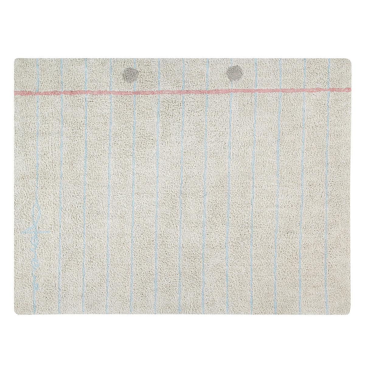 Tapis Tapis Lavable Notebook - 120 x 160 cm