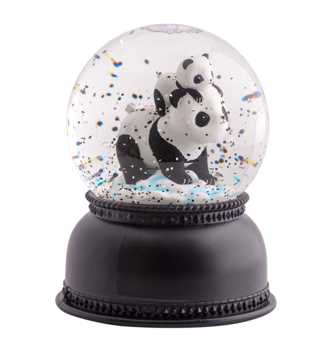 Veilleuse Boule à Neige Lumineuse Panda Boule à Neige Lumineuse Panda