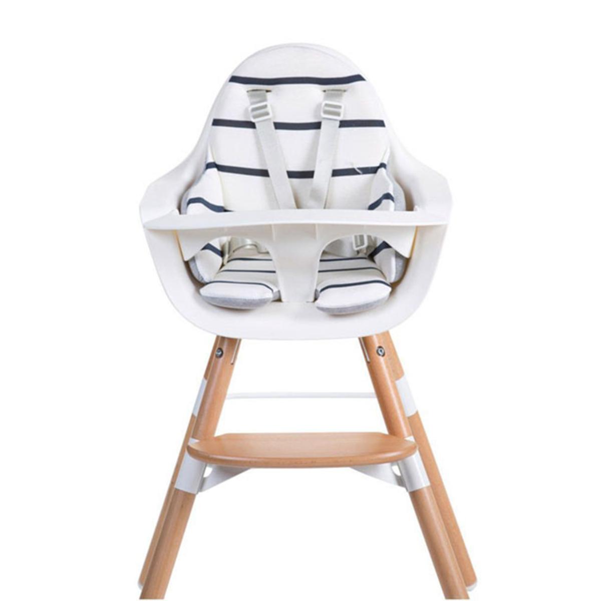 Chaise haute Coussin de Chaise Haute Jersey - Marin Coussin de Chaise Haute Jersey - Marin
