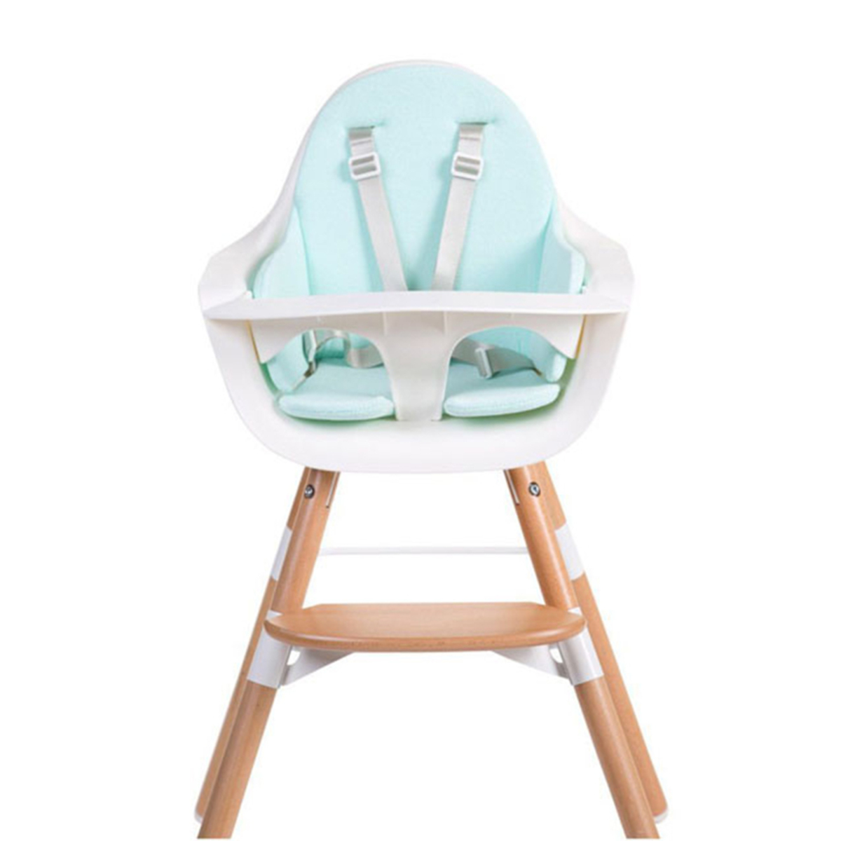 Chaise haute Coussin de Chaise Haute Eponge - Mint Blue Coussin de Chaise Haute Eponge - Mint Blue