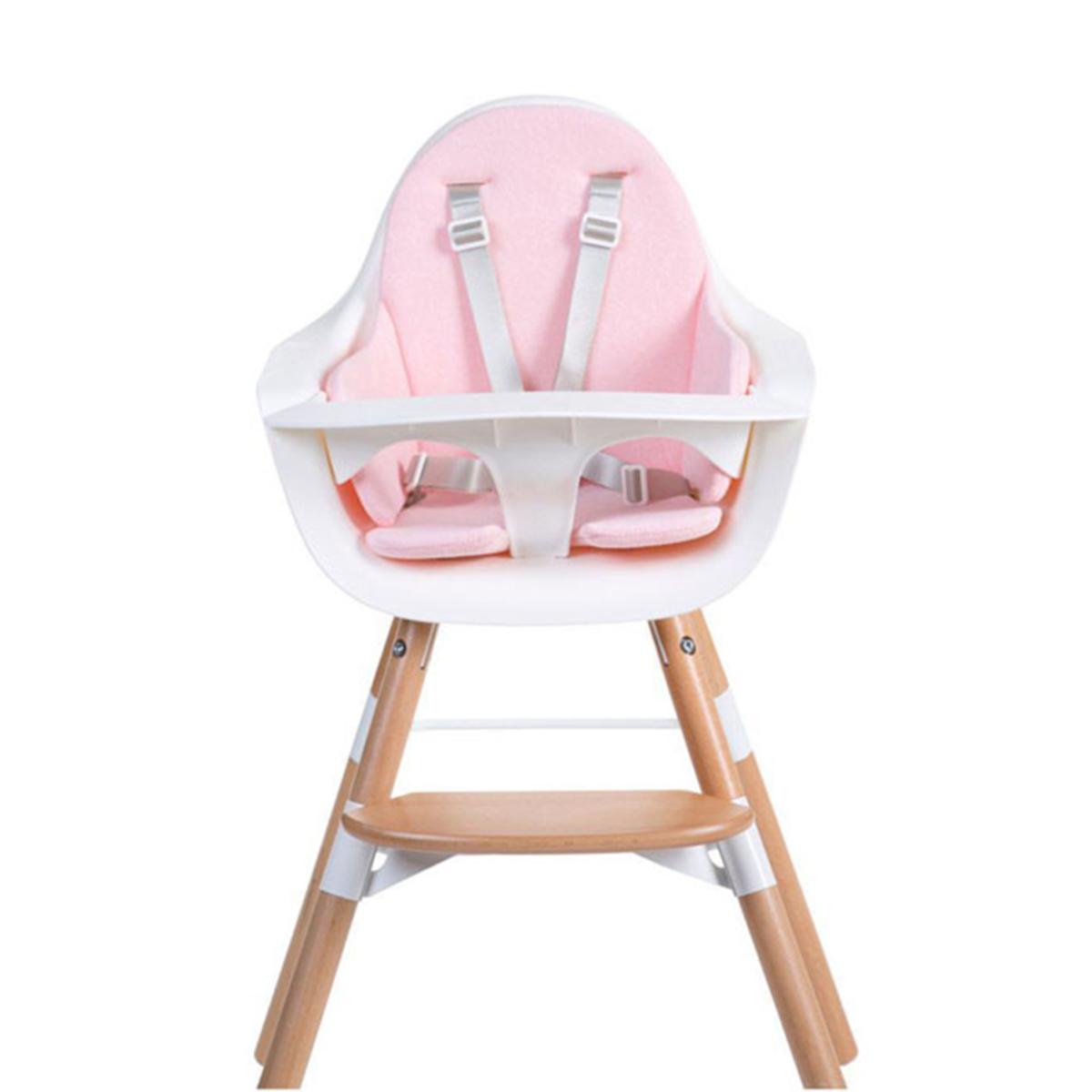 Chaise haute Coussin de Chaise Haute Eponge - Old Pink Coussin de Chaise Haute Eponge - Old Pink