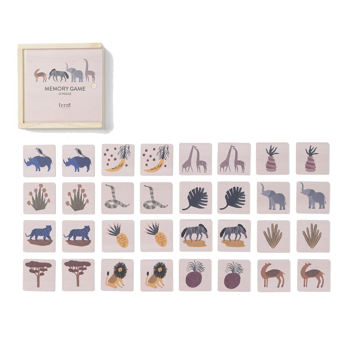 Mes premiers jouets Memory Game - Safary Memory Game - Safary