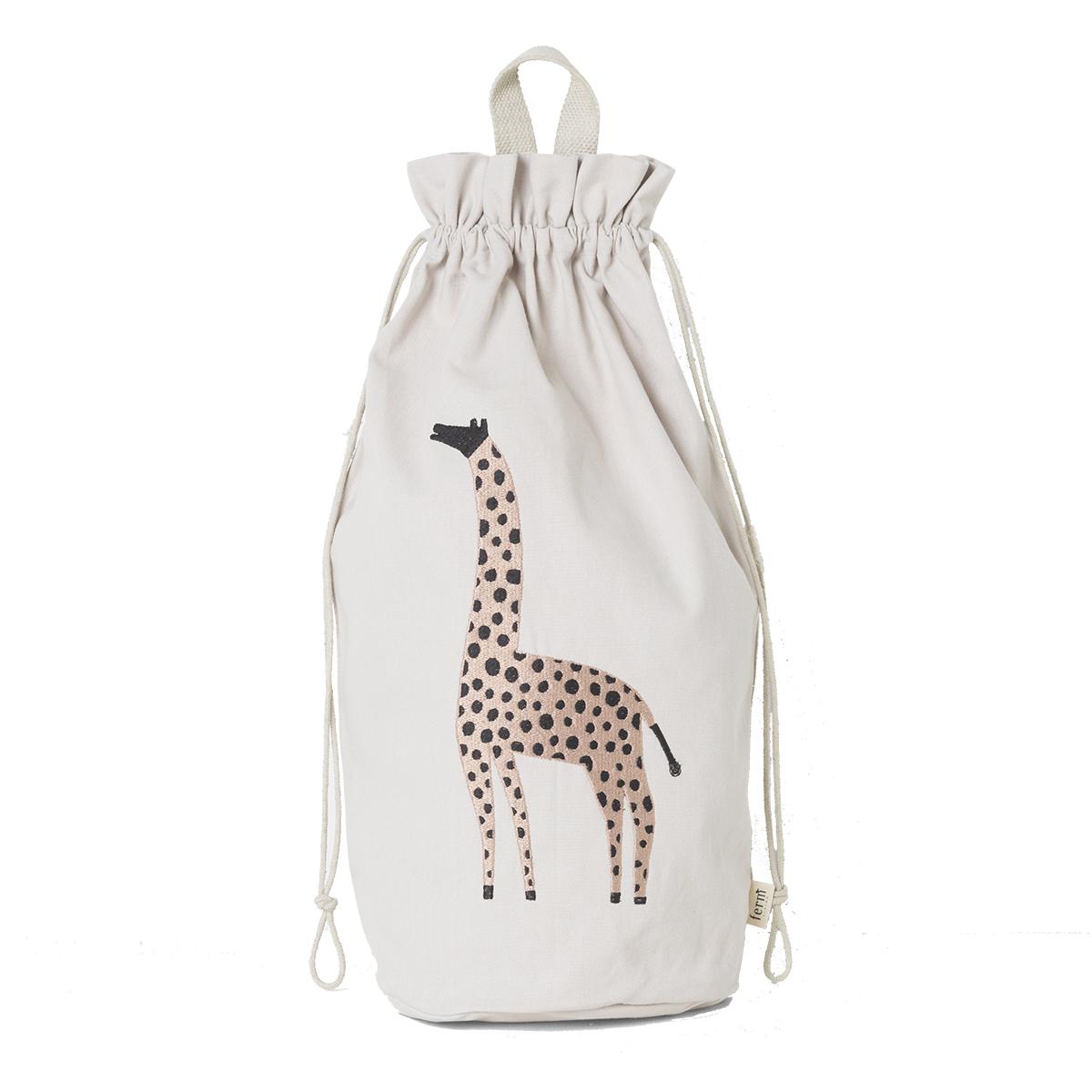 Rangement jouet Sac de Rangement Safari - Girafe Sac de Rangement Safari - Girafe