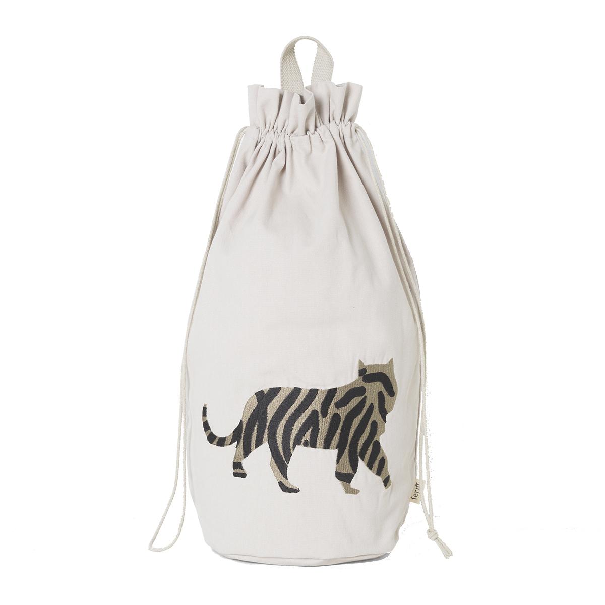 Rangement jouet Sac de Rangement Safari - Tigre