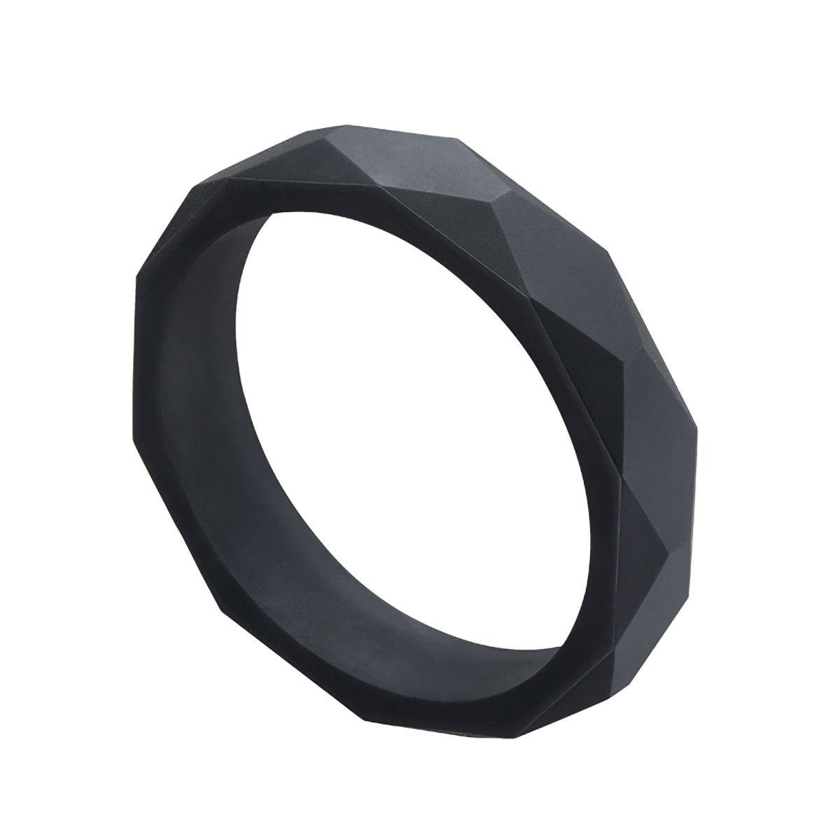 Anneau de dentition Bracelet de Dentition Noir Bracelet de Dentition Noir