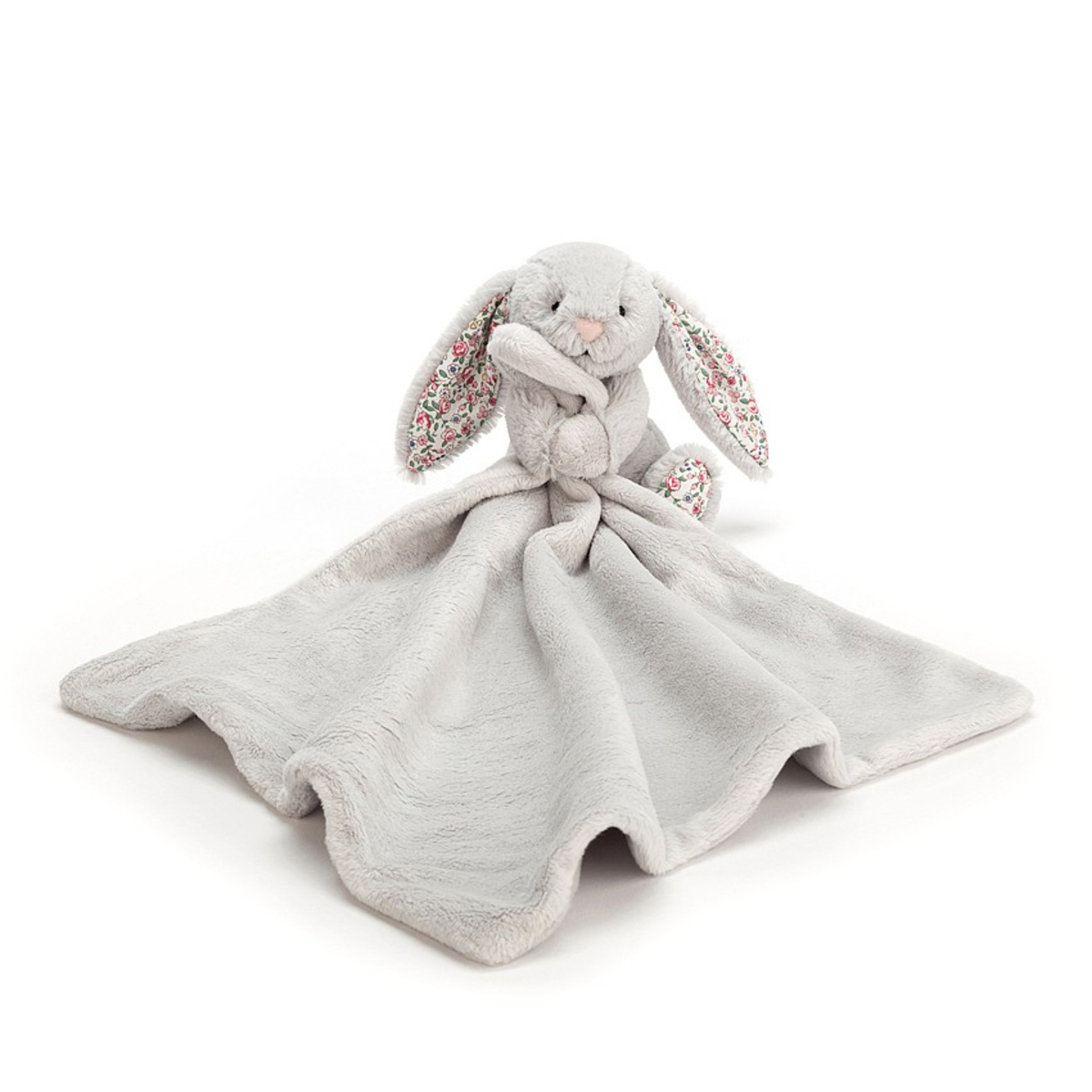 Doudou Blossom Silver Bunny Soother Blossom Silver Bunny Soother
