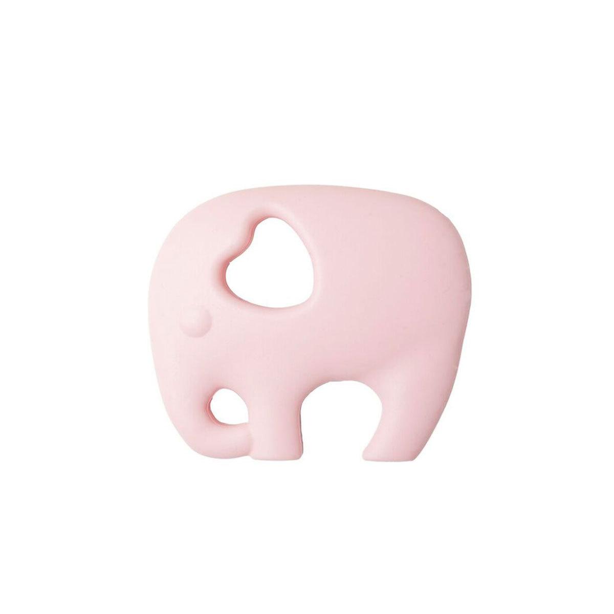 Anneau de dentition Jouet de Dentition Eléphant - Rose Jouet de Dentition Eléphant - Rose