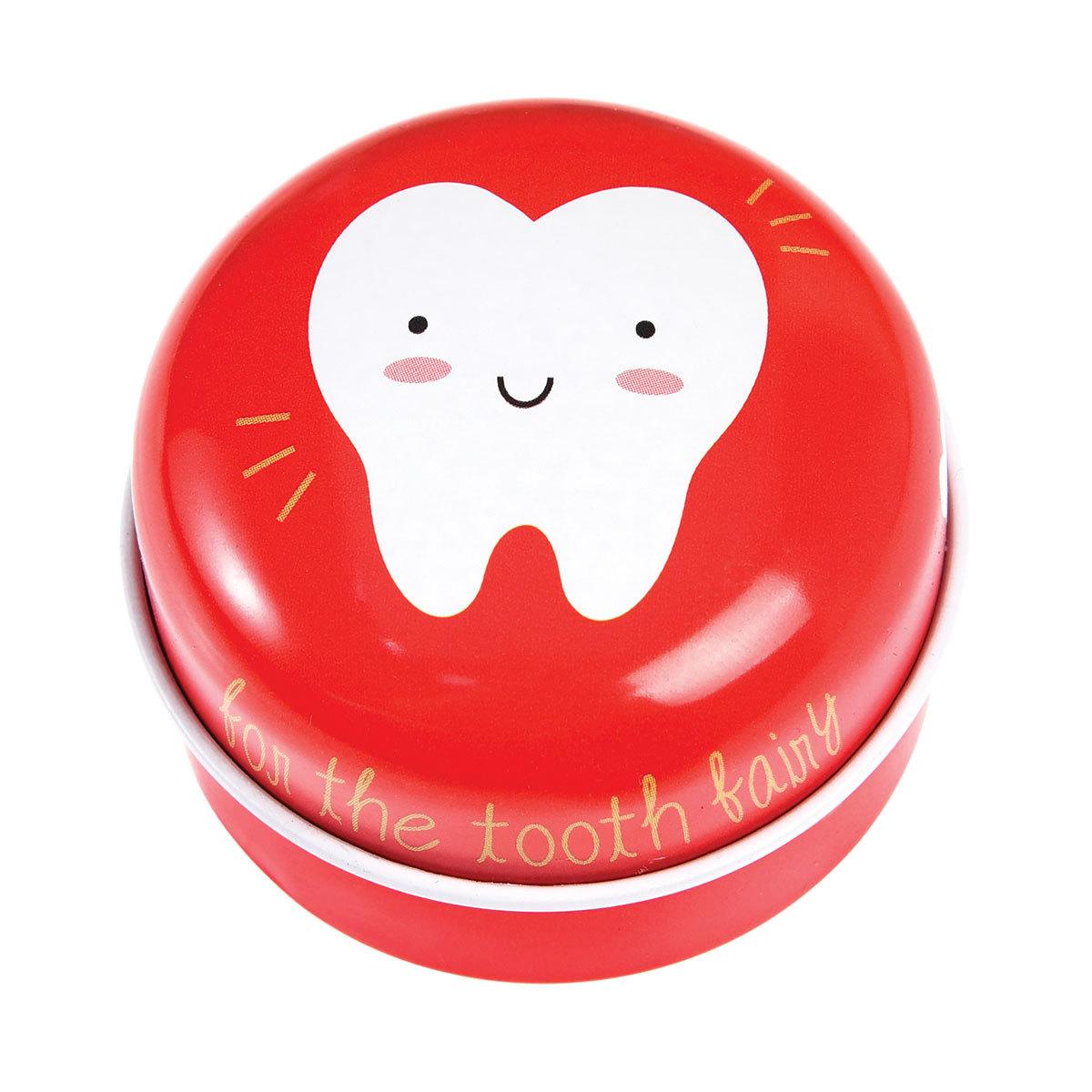 Dentition Boite à Dents Rouge Boite à Dents Rouge