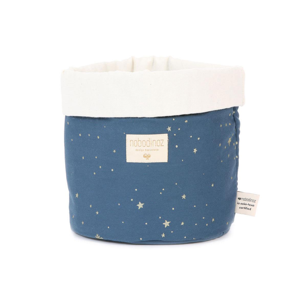 Panier & corbeille Panier de Rangement Panda - Gold Stella / Night Blue Panier de Rangement Panda - Gold Stella / Night Blue