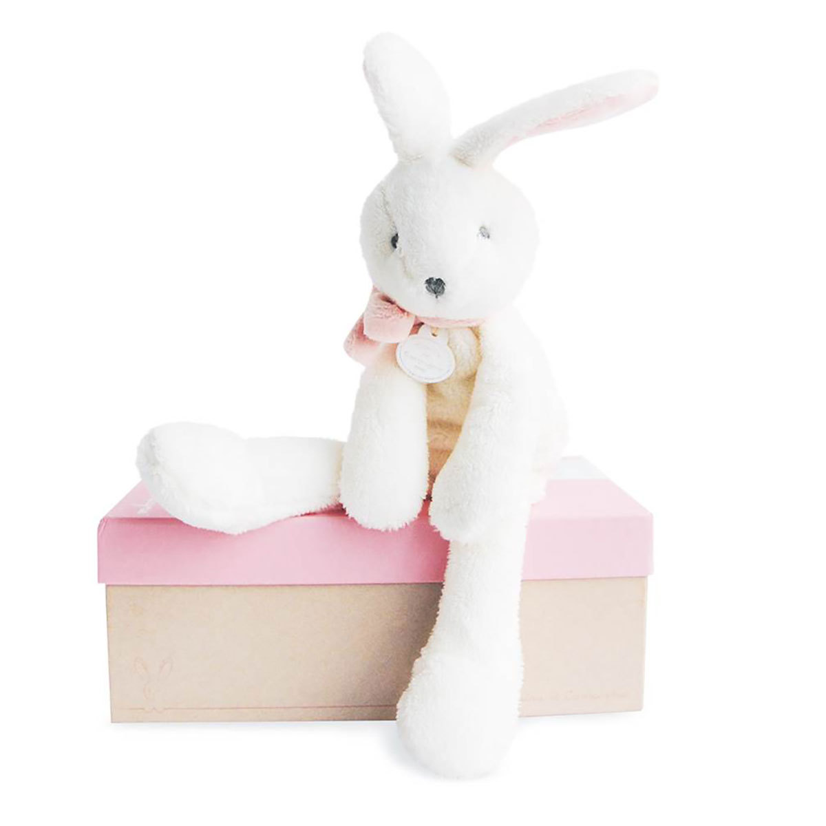 Peluche Lapin Chic - Rose Lapin Chic - Rose