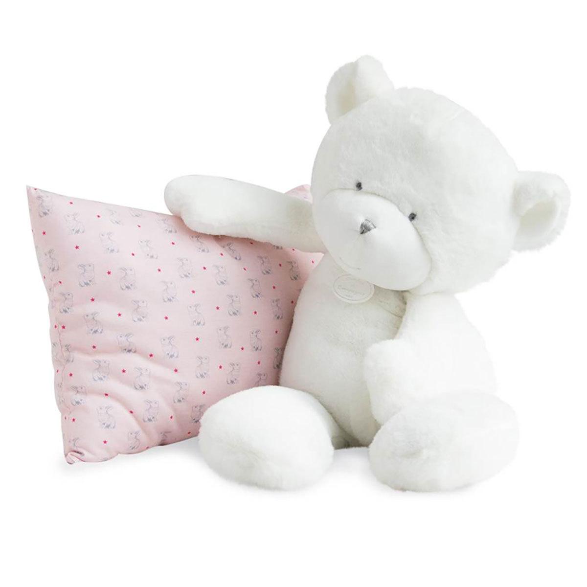 Doudou Le Doudou - Ours Blanc 50 cm Le Doudou - Ours Blanc 50 cm