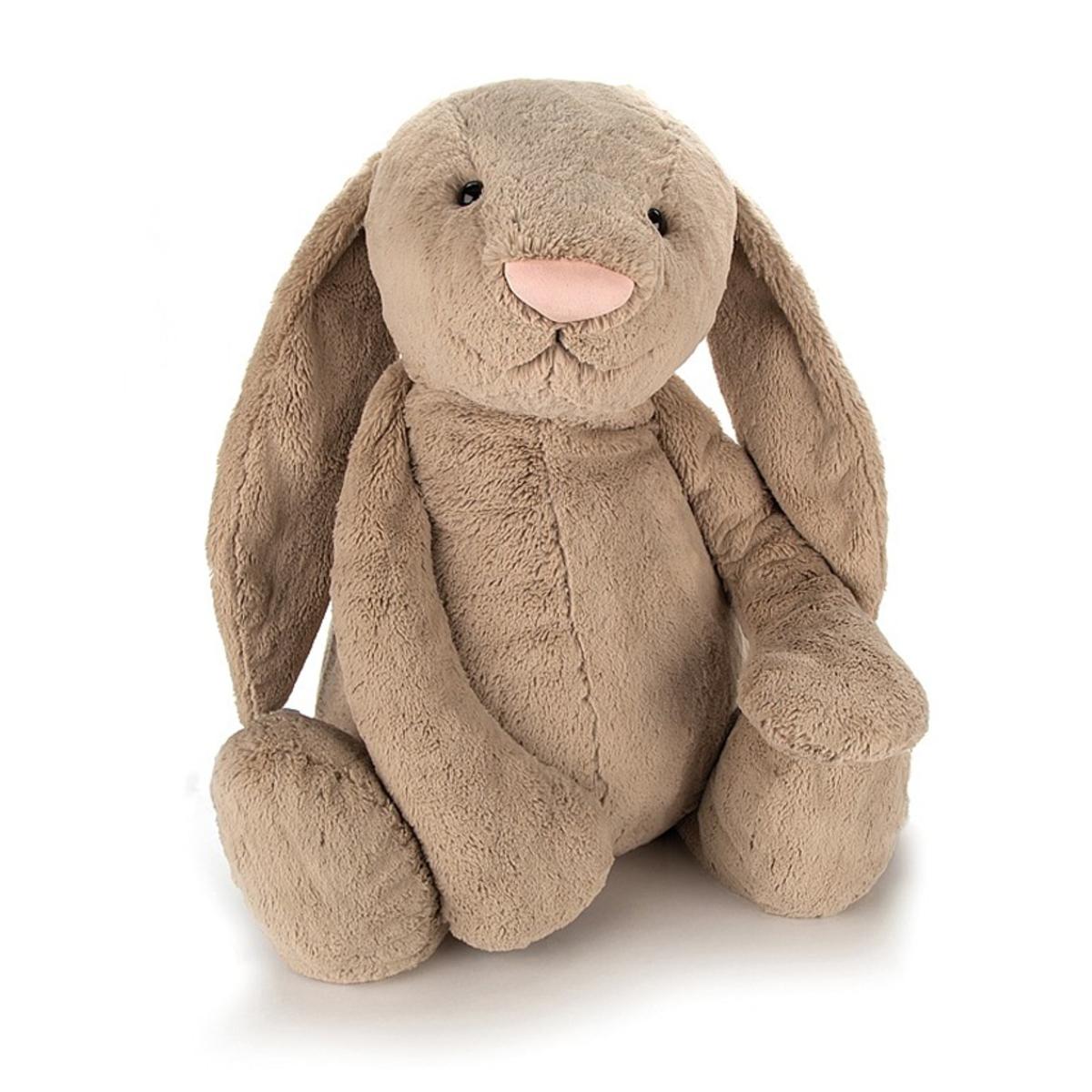 Peluche Grande Peluche Lapin Bashful Beige Bunny 108 cm Grande Peluche Lapin Bashful Beige Bunny 108 cm