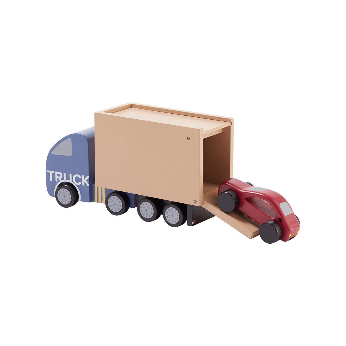 Mes premiers jouets Camion et Voiture de Sport en Bois Camion et Voiture de Sport en Bois
