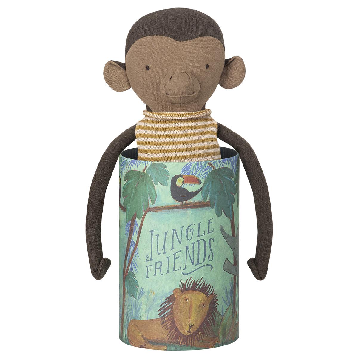 Peluche Peluche Singe Jungle Friends Monkey 38 cm Peluche Singe Jungle Friends Monkey 38 cm