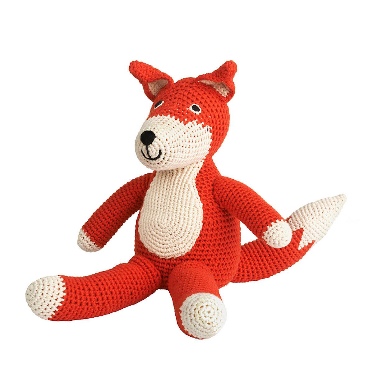 Peluche Renard en Crochet - Rouge Renard en Crochet - Rouge
