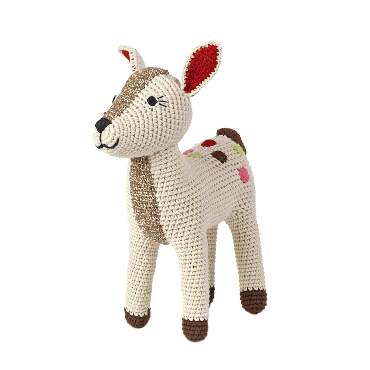 Peluche Peluche Faon Bambi en Crochet 23 cm Peluche Faon Bambi en Crochet 23 cm