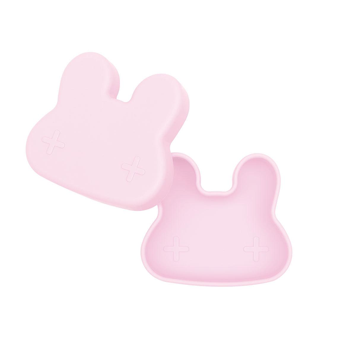 Vaisselle & Couvert Petite Boîte à Goûter Lapin - Powder Pink