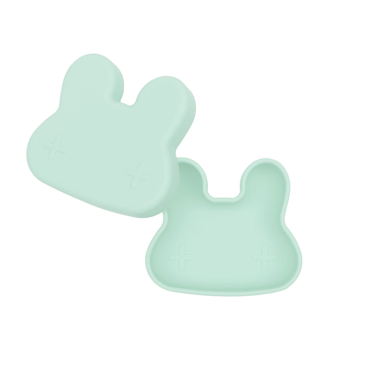 Vaisselle & Couvert Petite Boîte à Goûter Lapin - Minty Green Petite Boîte à Goûter Lapin - Minty Green