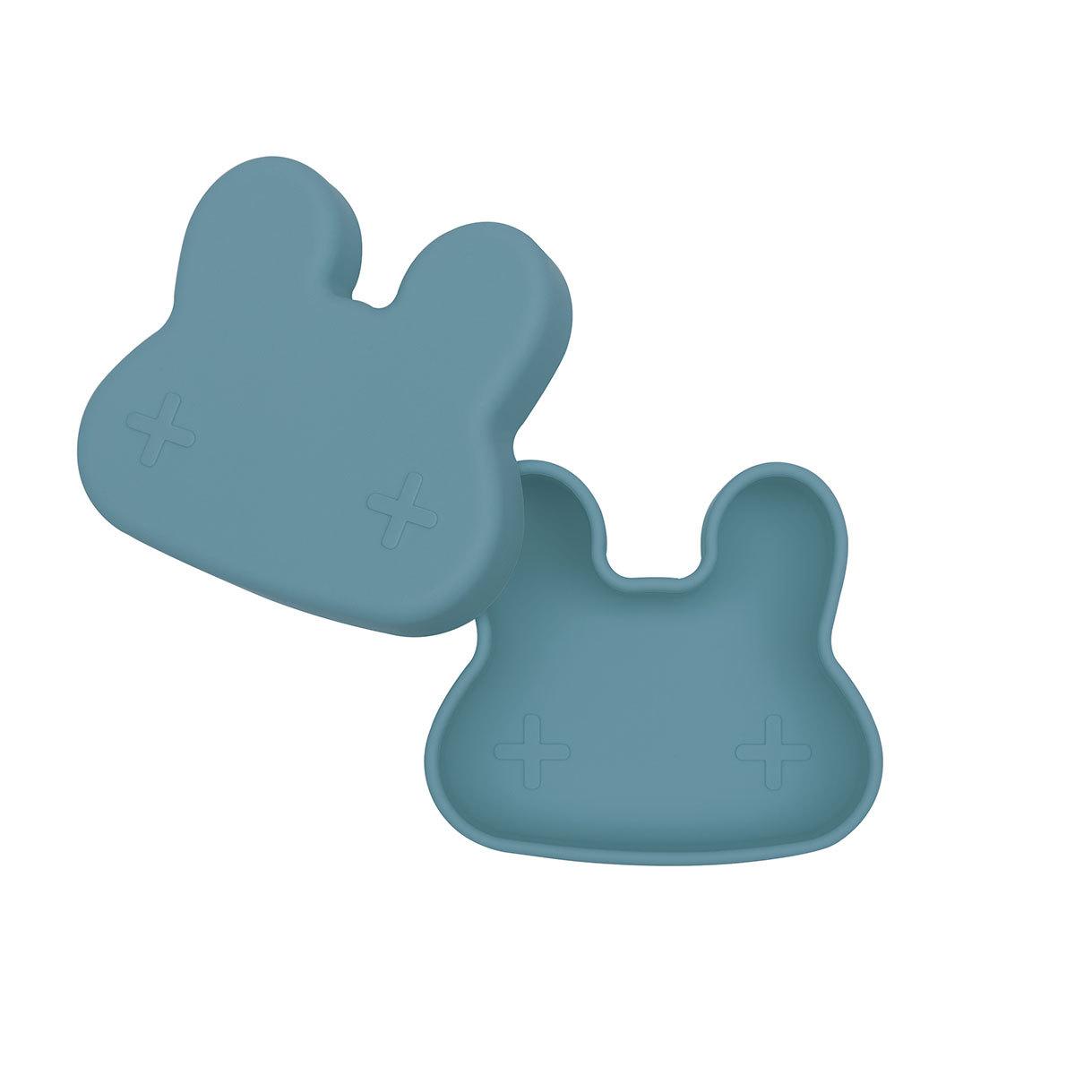 Vaisselle & Couvert Petite Boîte à Goûter Lapin - Blue Dusk Petite Boîte à Goûter Lapin - Blue Dusk