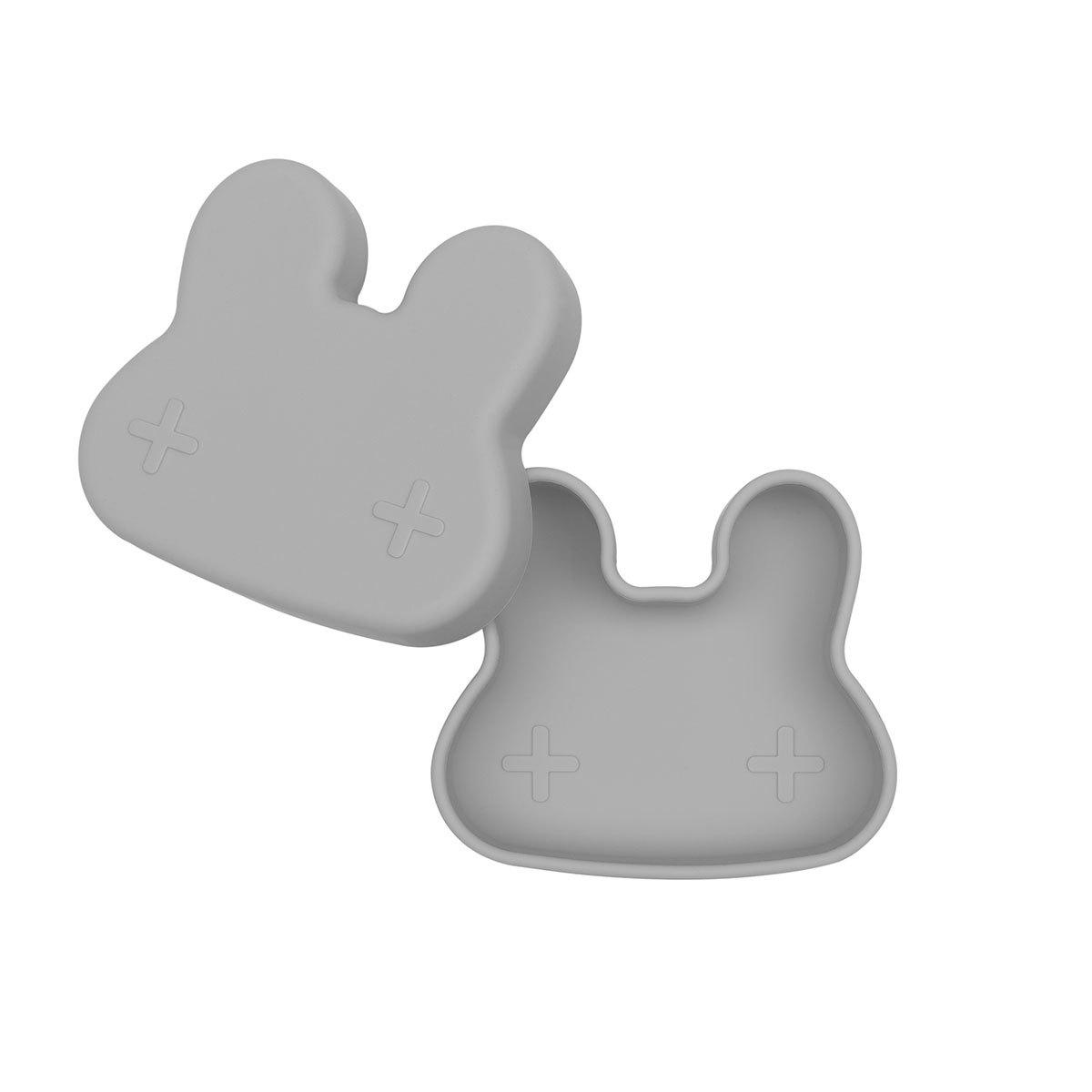 Vaisselle & Couvert Petite Boîte à Goûter Lapin - Grey
