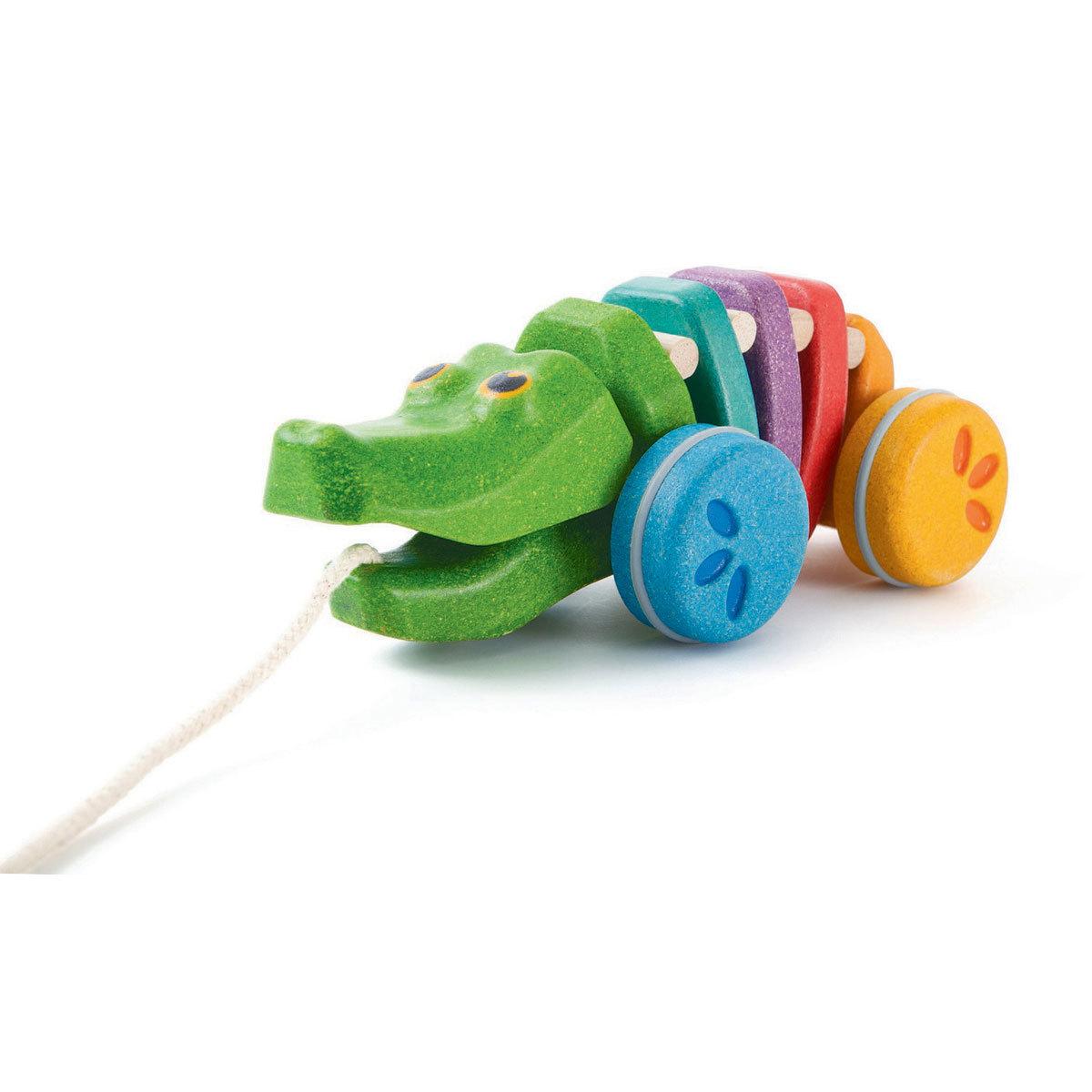Mes premiers jouets Alligator Arc-En-Ciel