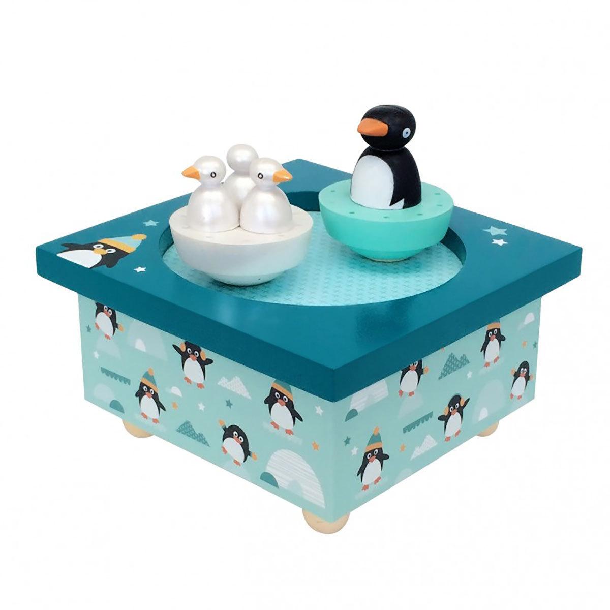 Boîte à musique Boîte à Musique Dancing Pingouin Boîte à Musique Dancing Pingouin