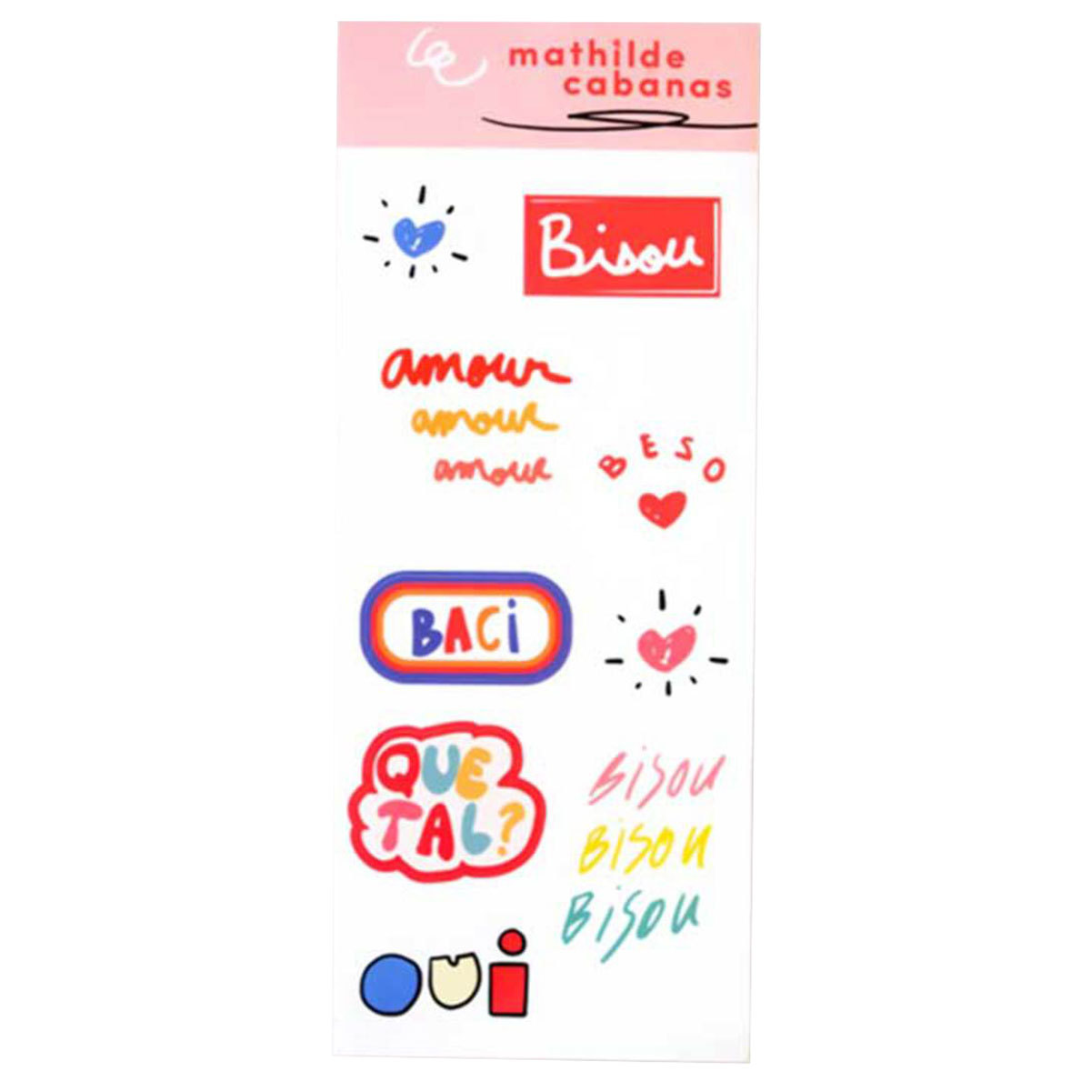Sticker Planche de Stickers Planche de Stickers