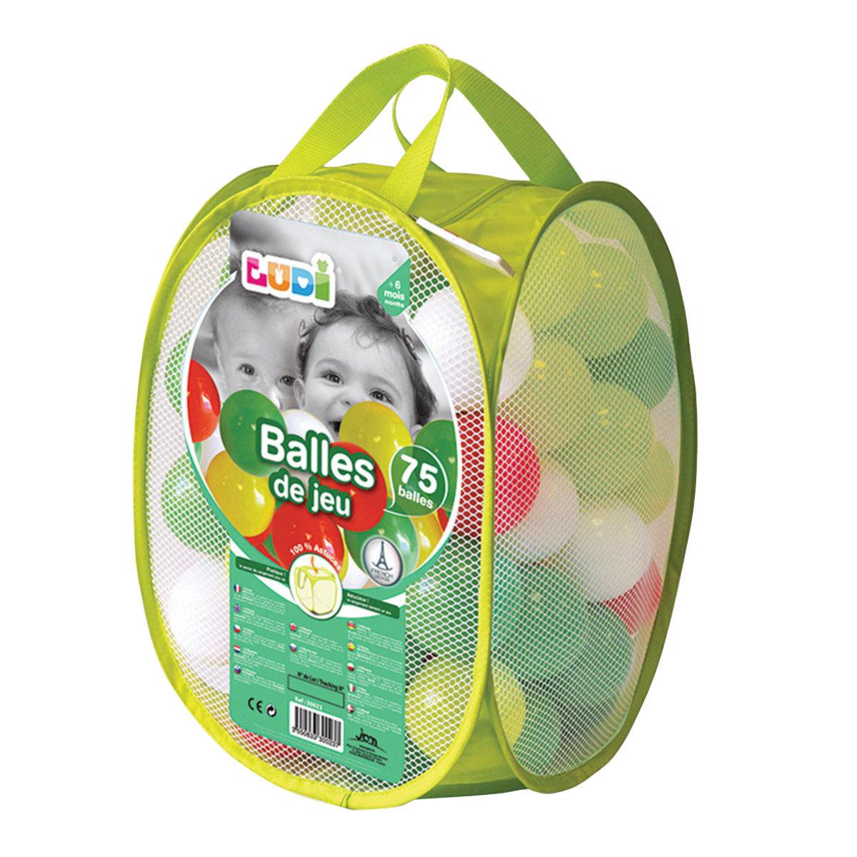 Tapis éveil Balles de Jeux Vertes 75 pièces Balles de Jeux Vertes 75 pièces