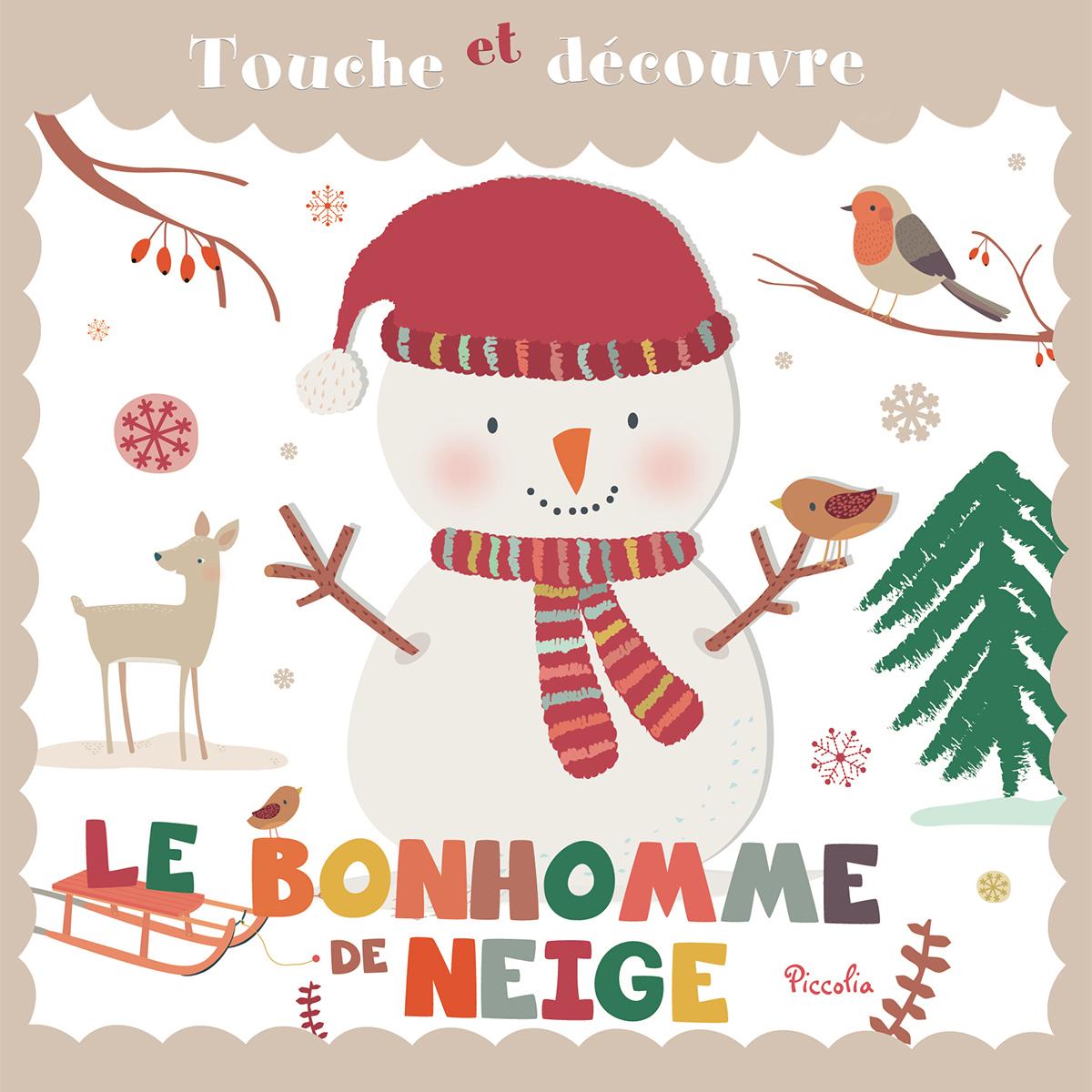Livre & Carte Le Bonhomme de Neige Le Bonhomme de Neige