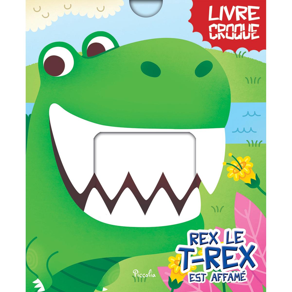 Livre & Carte Rex le T-Rex est Affamé Rex le T-Rex est Affamé