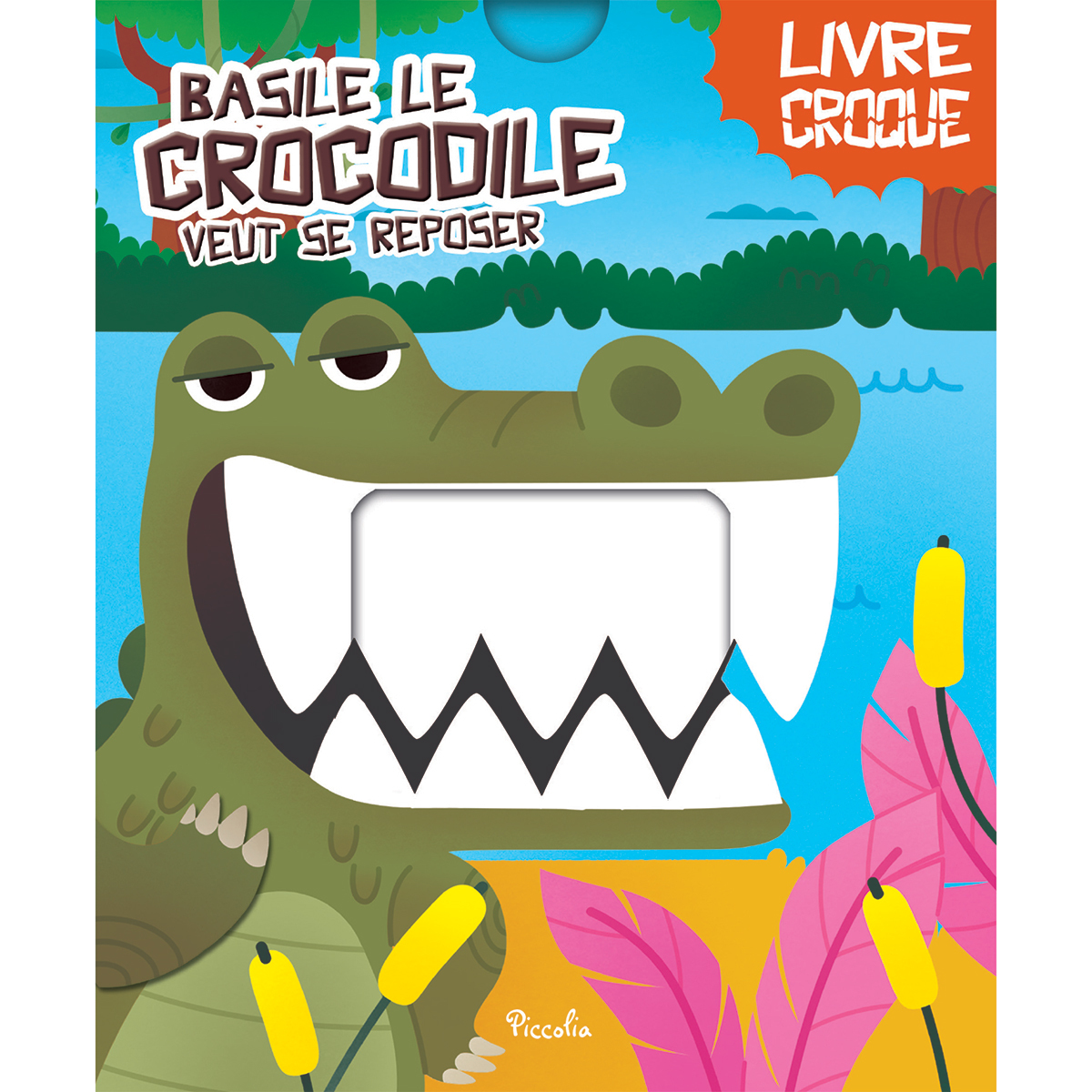 Livre & Carte Basile le Crocodile veut se Reposer Basile le Crocodile veut se Reposer