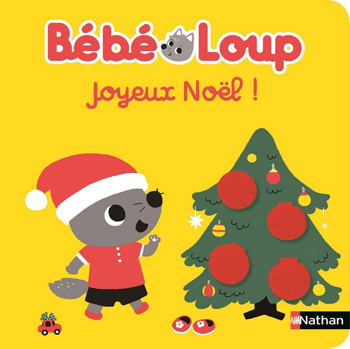 Livre & Carte Joyeux Noël Bébé Loup Joyeux Noël Bébé Loup
