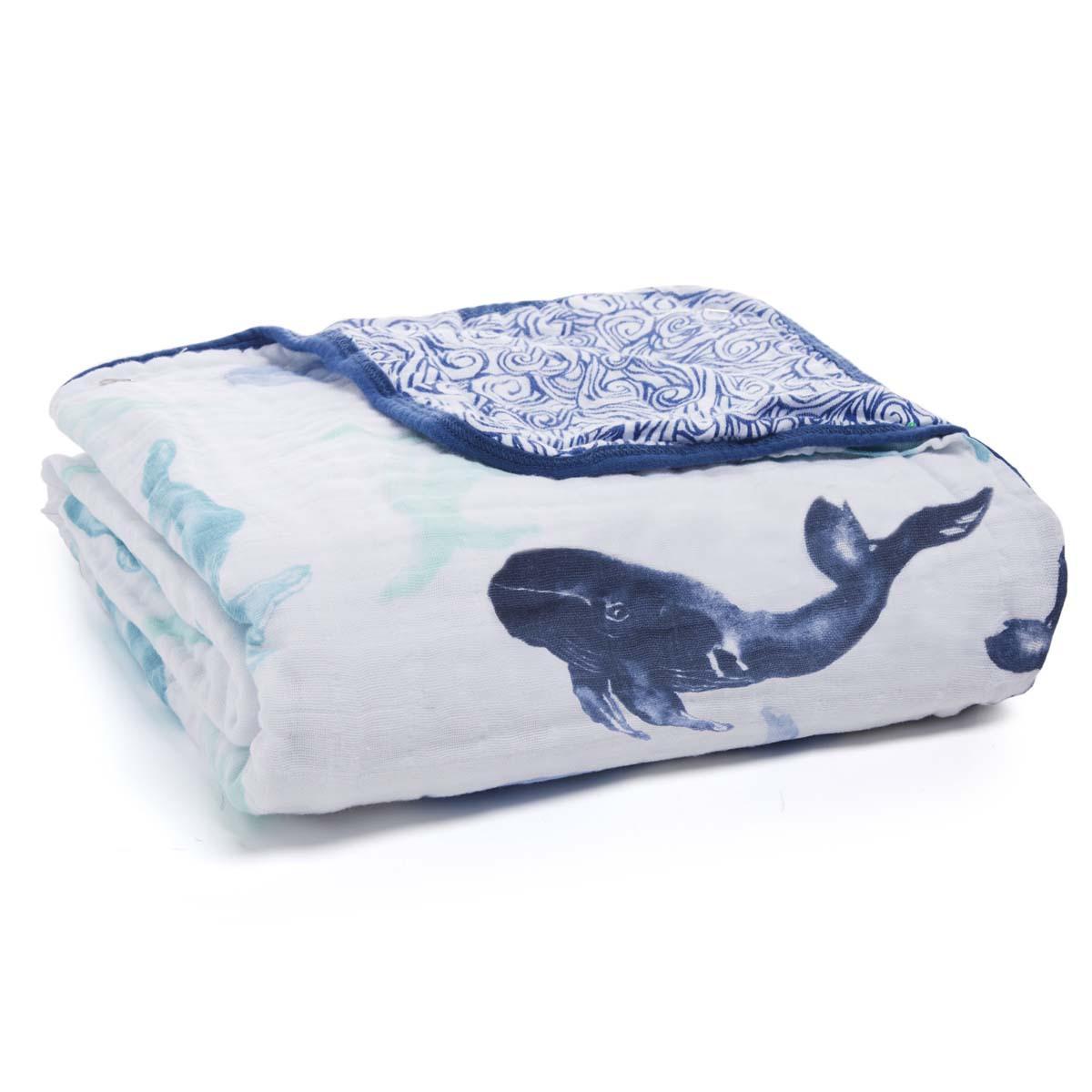 Linge de lit Couverture de Rêve - Seafaring Whales Couverture de Rêve - Seafaring Whales