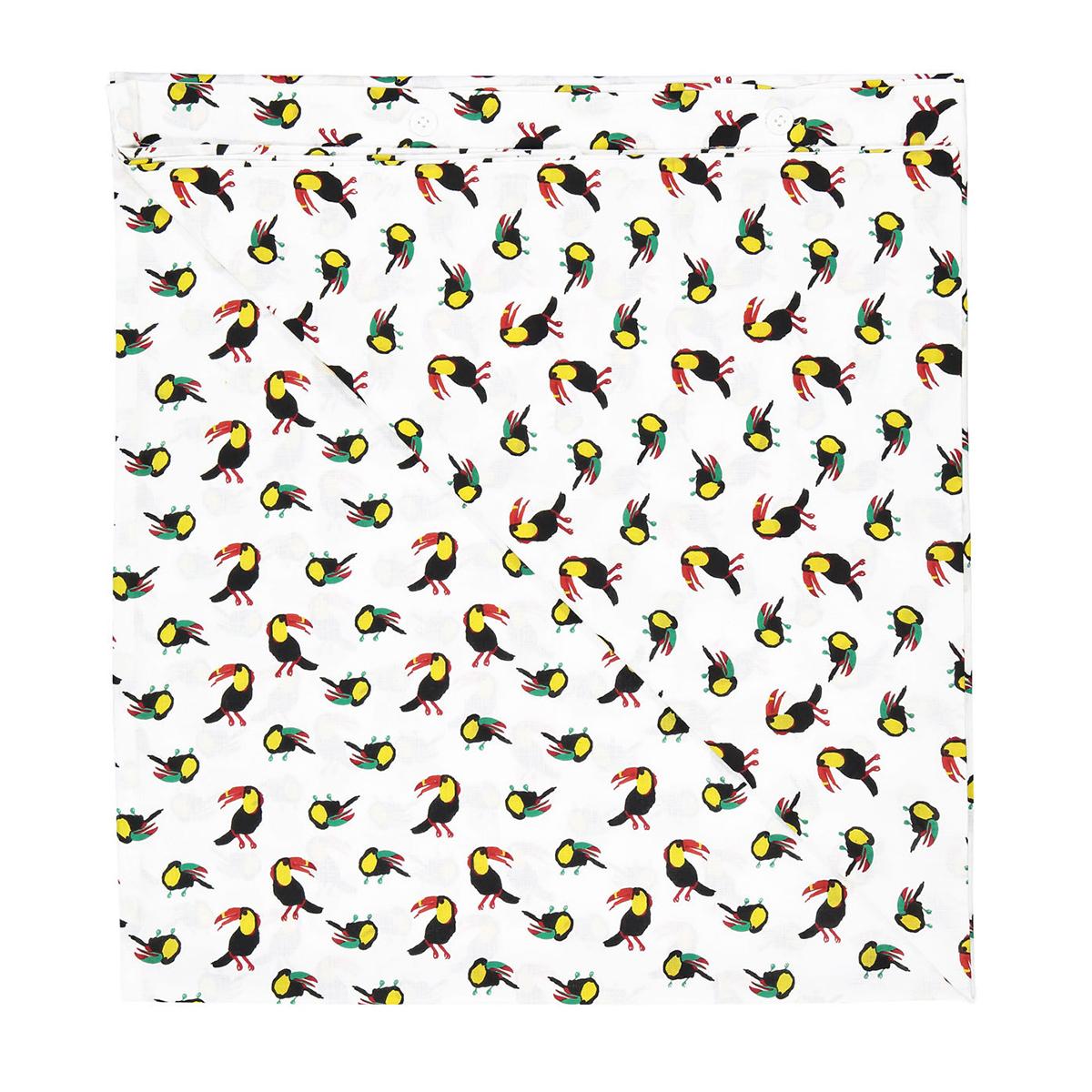 Linge de lit Parure Toucan - 100 x 140 cm Parure Toucan - 100 x 140 cm