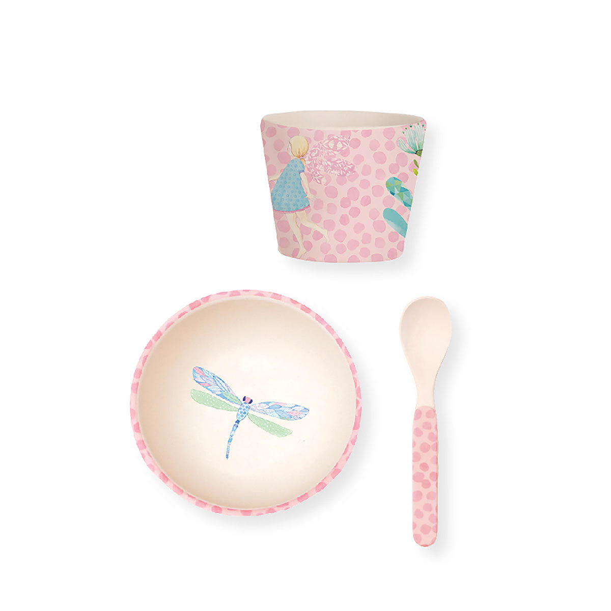 Coffret repas Coffret Repas Bébé avec Ventouse - Fairy Coffret Repas Bébé avec Ventouse - Fairy