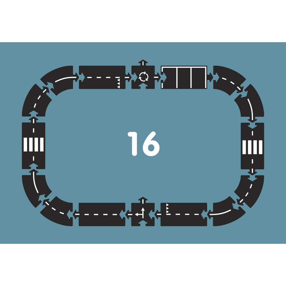 Mes premiers jouets Circuit Flexible à Assembler - ExpressWay Circuit Flexible à Assembler - ExpressWay