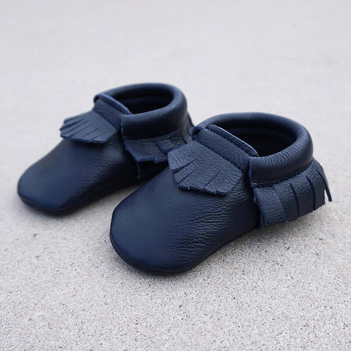 Chaussons & Chaussures Mocassins Bleu Nuit - 18/19 Mocassins Bleu Nuit - 18/19