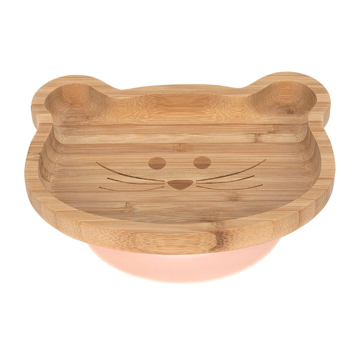 Vaisselle & Couvert Assiette en Bois de Bambou Little Chums - Souris Assiette en Bois de Bambou Little Chums - Souris