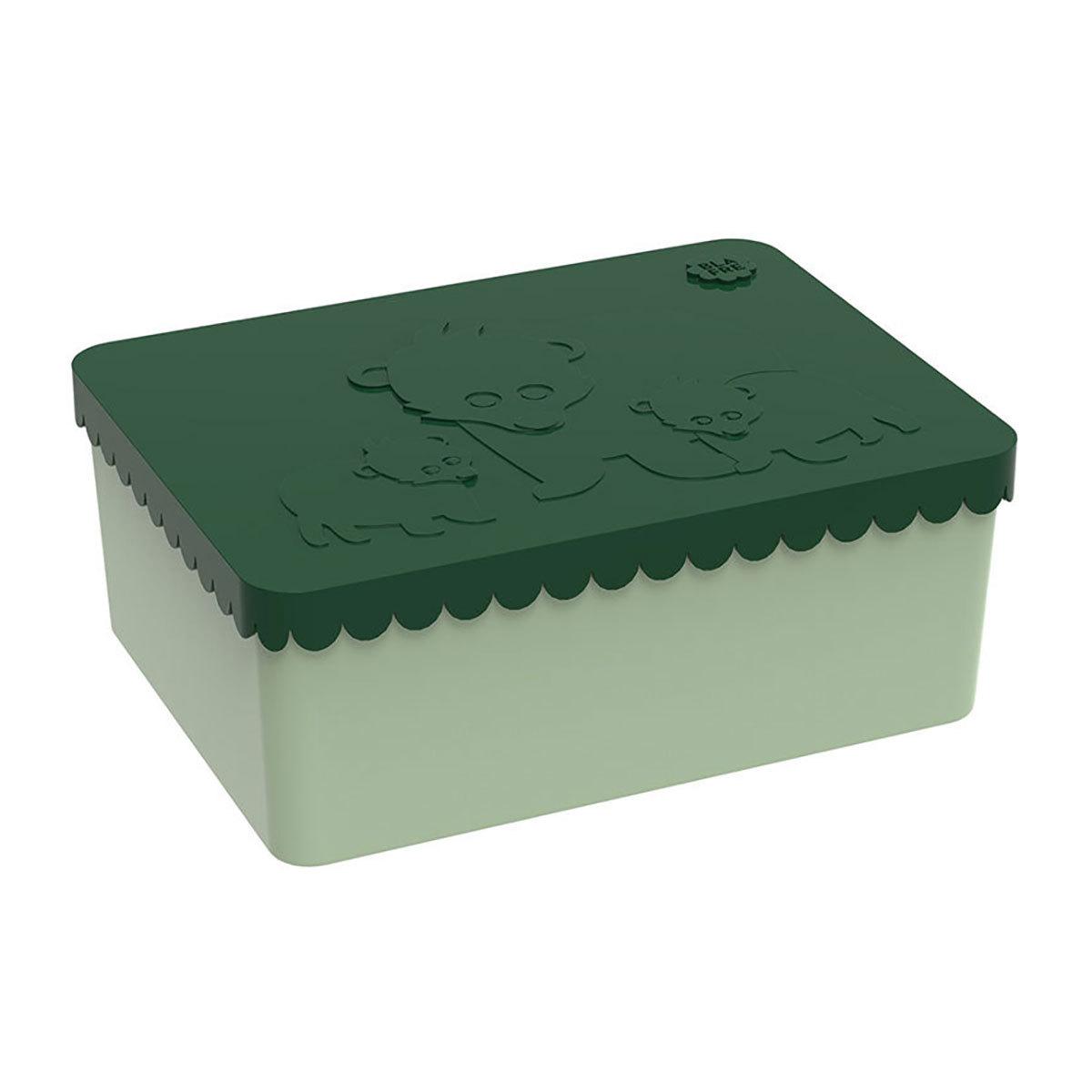 Vaisselle & Couvert LunchBox Ours - Vert Foncé