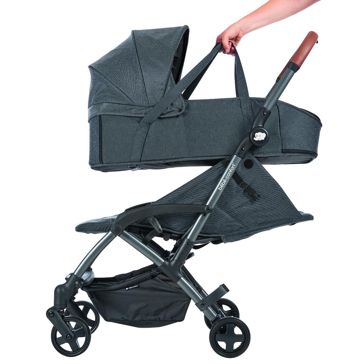b b confort nacelle la ka sparkling grey nacelle b b. Black Bedroom Furniture Sets. Home Design Ideas