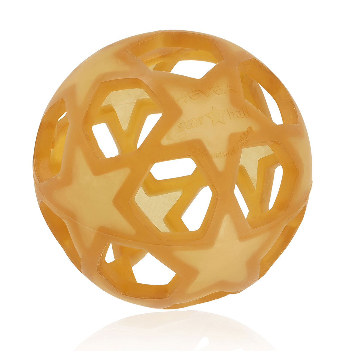 Dentition Star Ball Caoutchouc Naturel - Jaune Star Ball Caoutchouc Naturel - Jaune