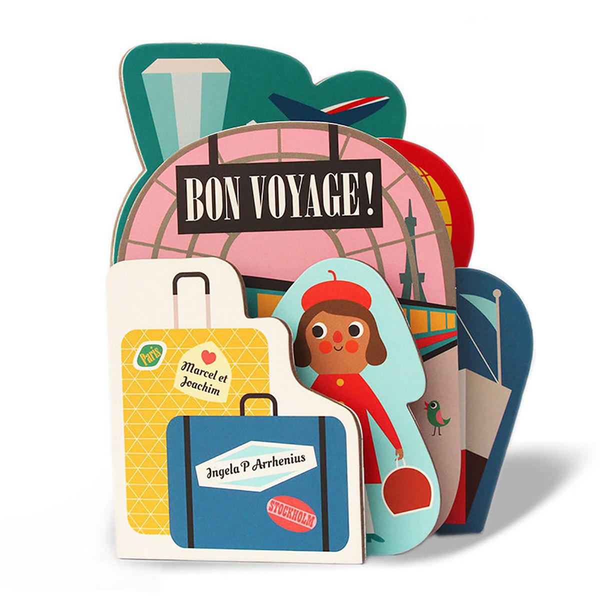 Livre & Carte Collection Les Ingela - Bon Voyage ! Collection Les Ingela - Bon Voyage !