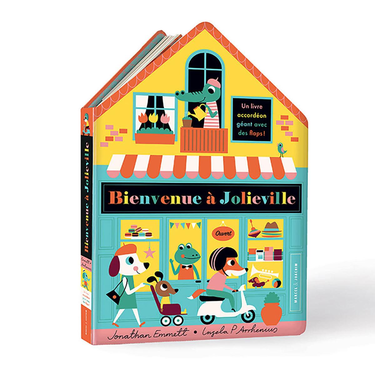Livre & Carte Bienvenue à Jolieville Bienvenue à Jolieville
