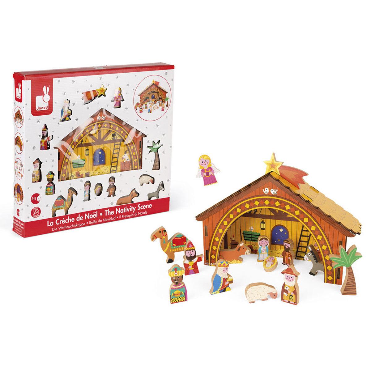 Mes premiers jouets La Crèche de Noël La Crèche de Noël