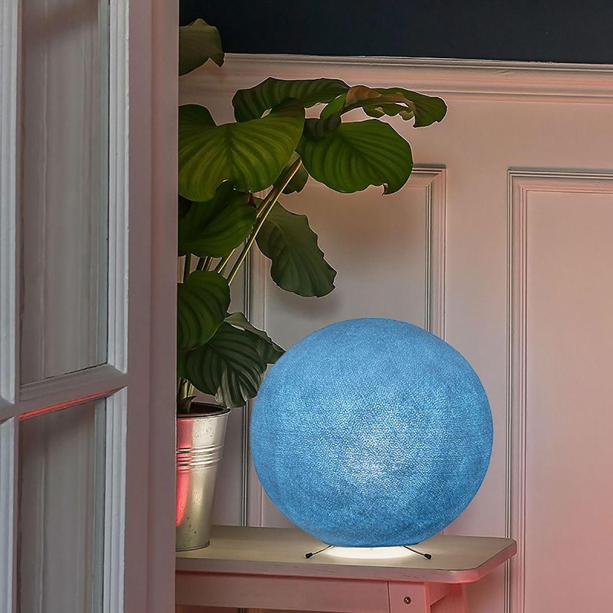 La Case De Cousin Paul Pack Globe Bébé Denim Lampe à Poser La Case