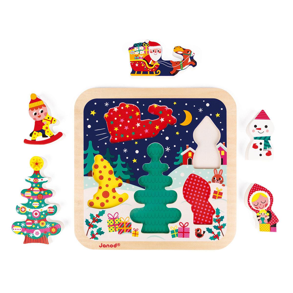 Mes premiers jouets Puzzle La Magie de Noël Puzzle La Magie de Noël