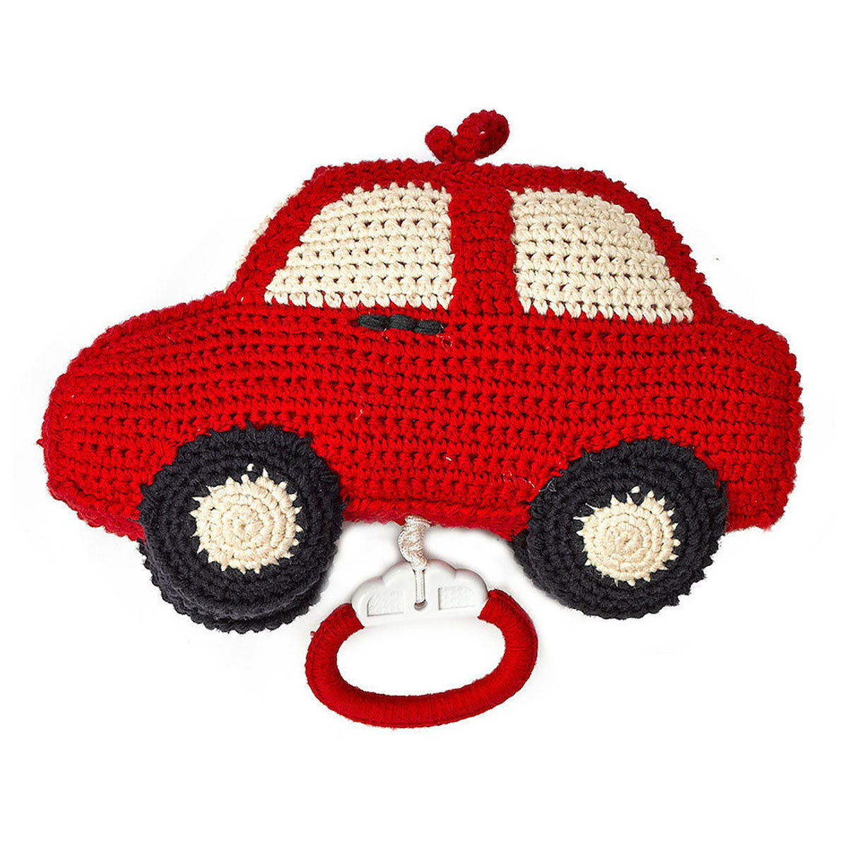 Mobile Mobile Musical Voiture - Rouge