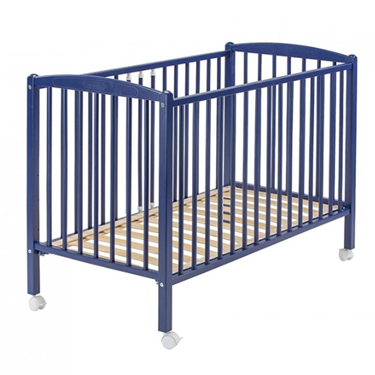 Lit bébé Lit Bébé Arthur Bleu -  60 x 120 cm Lit Bébé Arthur Bleu -  60 x 120 cm