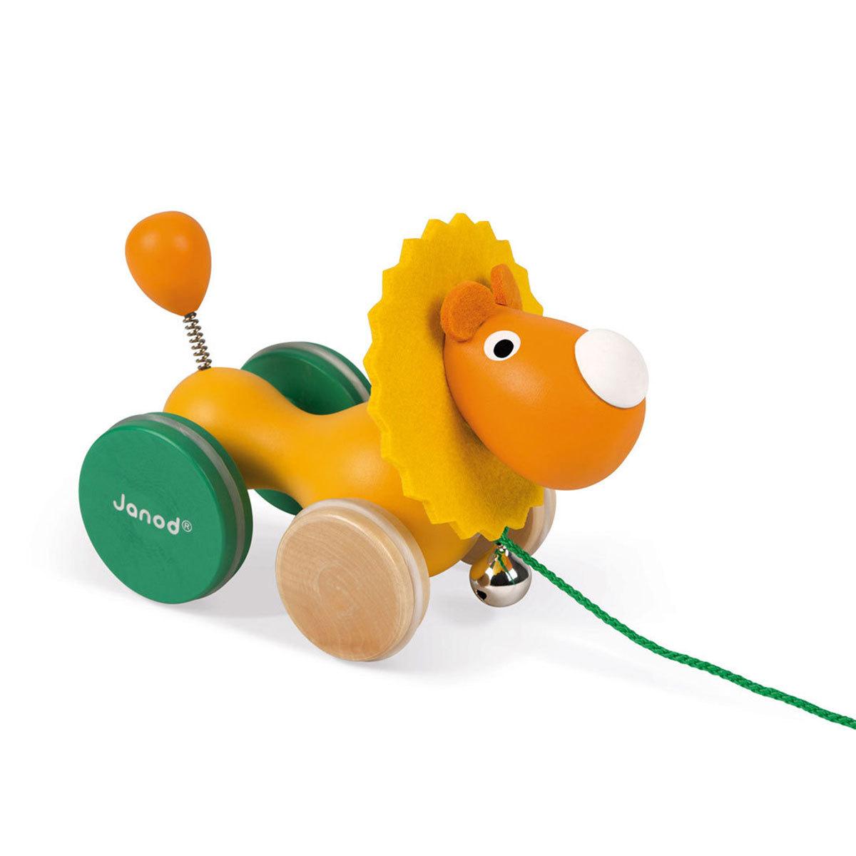 Mes premiers jouets Lion à Promener - Zigolos Lion à Promener - Zigolos
