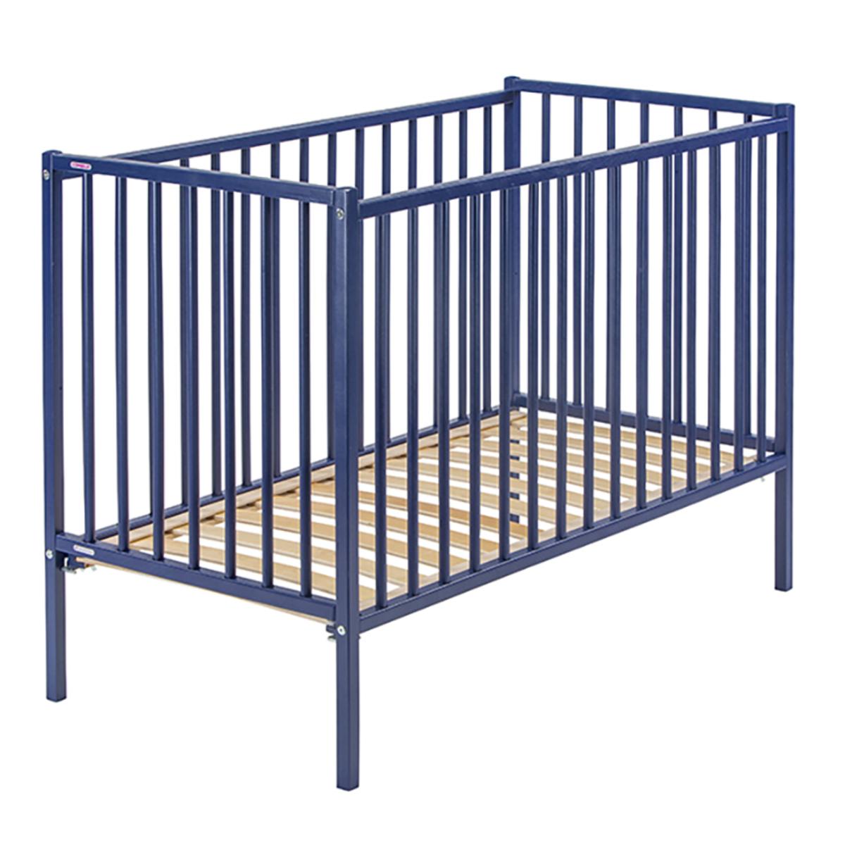 Lit bébé Lit Bébé Rémi Bleu - 70 x 140 cm Lit Bébé Rémi Bleu - 70 x 140 cm